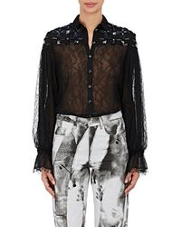 Koche - Embellished Lace Blouse - Lyst