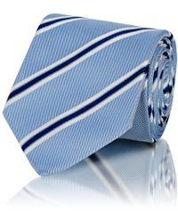 Bigi - Striped Silk Twill Necktie - Lyst