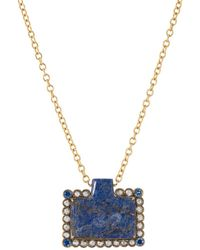 Cathy Waterman - Horse Pendant Necklace - Lyst