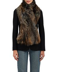 Barneys New York - Fox Fur Scarf - Lyst