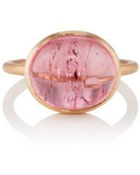 Irene Neuwirth - Pink Tourmaline Ring - Lyst
