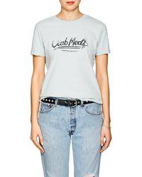 Ksubi - Club Med Tiny Mint Cotton T-shirt - Lyst