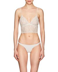 The Great Eros - Sonata Lace Longline Bralette - Lyst