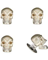 Deakin & Francis - Skull Shirt-stud Set - Lyst