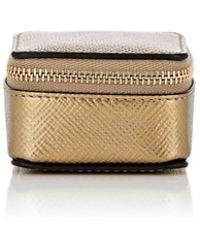 Smythson - Panama Small Leather Trinket Case - Lyst