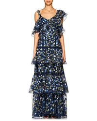 Prabal Gurung - Embroidered Silk Organza Gown - Lyst