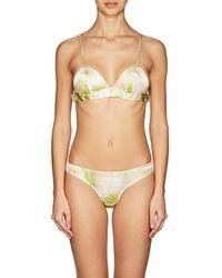 Gilda & Pearl | Kew Silk Satin Soft Bra | Lyst