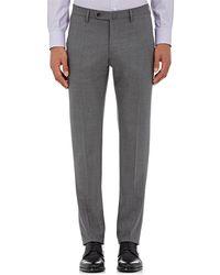 Incotex - S-body Slim-fit Wool Trousers - Lyst