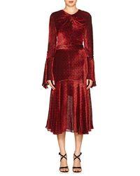Prabal Gurung - Devoré Velvet Dress - Lyst