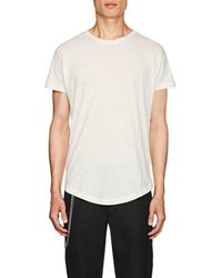 Chapter - Slub Cotton-blend T - Lyst