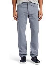 J Brand - Kane Moleskin Straight Jeans - Lyst
