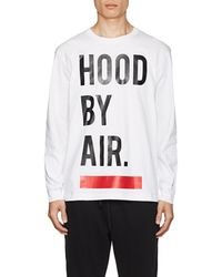 Hood By Air - Logo Cotton Long-sleeve T - Lyst