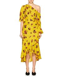 A.L.C. - Florence Floral Silk Dress - Lyst