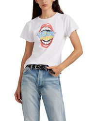 RE/DONE - The Classic Graphic Cotton T-shirt - Lyst