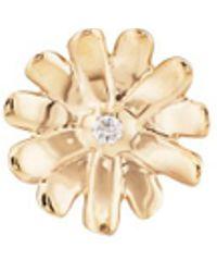 Barneys New York - Diamond Daisy Stud Earring - Lyst