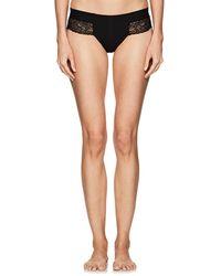 La Perla - Charisma Lace-trimmed Bikini Briefs - Lyst