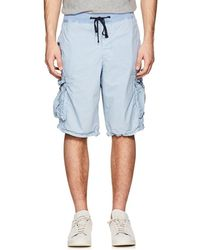 Mens Washed Cotton Cargo Shorts James Perse iE6dNO