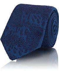Title Of Work - Abstract-pattern Silk Necktie - Lyst