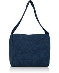 Barneys New York - Canvas Hobo Bag - Lyst