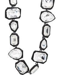 Ambush - Crystal-embellished Geometric-link Choker - Lyst