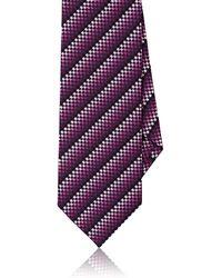 Dolcepunta - Ombré Checked Silk Necktie - Lyst