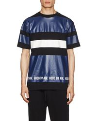 Hood By Air - Logo Striped Cotton T - Lyst