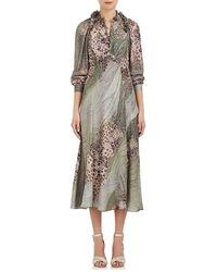 Maison Mayle - Vander Pierre Silk Satin Dress - Lyst