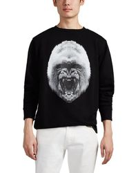 Marcelo Burlon - Gorilla Cotton French Terry Sweatshirt - Lyst