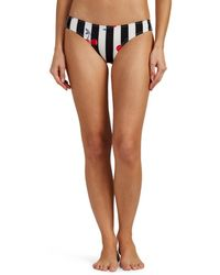 Solid & Striped - Elle Cherry Striped Bikini Bottom - Lyst