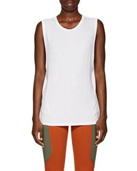 Live The Process - Mesh-trimmed Jersey Tank - Lyst
