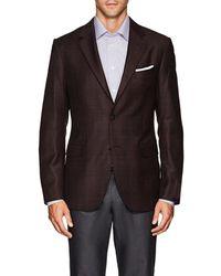 Barneys New York - Traveller Plaid Wool-silk Sportcoat - Lyst