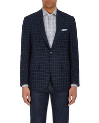 Isaia - Sanita Checked Cashmere Two-button Sportcoat - Lyst