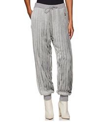 Undercover - Pleated Velour Jogger Pants - Lyst