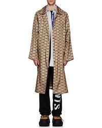 Vetements - Monogram Oversized Raincoat - Lyst