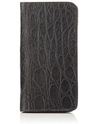 Barneys New York - Crocodile Iphone® 7/8 Folio Case - Lyst
