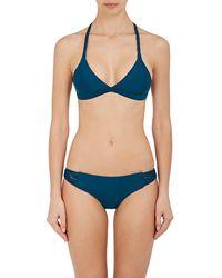 Mikoh Swimwear - Nusa Dua Triangle Bikini Top - Lyst