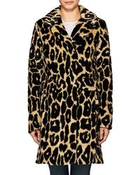 7 For All Mankind - Ocelot-print Faux - Lyst