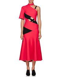 Proenza Schouler - Crisscross-strap Midi-dress - Lyst