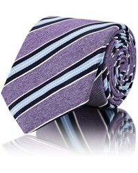 Barneys New York - Striped Silk Necktie - Lyst