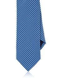 Barneys New York - Dotted Silk Necktie - Lyst
