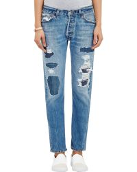 RE/DONE - The Relaxed Straight Jeans - Lyst