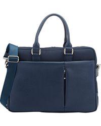 Barneys New York - Combo Briefcase - Lyst