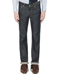 Visvim - unwashed Raw Denim Jeans - Lyst