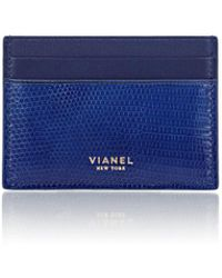 Vianel - Lizard V3 Card Case - Lyst