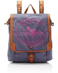 Campomaggi - Women's Logo Convertible Backpack - Lyst