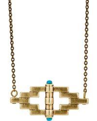 Pamela Love - Small Reflection Pendant Necklace - Lyst