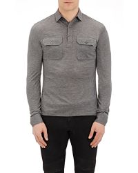 Ralph Lauren Black Label | Long-sleeve Polo Shirt | Lyst