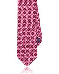 Ted Baker - Mixed-dot-pattern Satin Necktie - Lyst