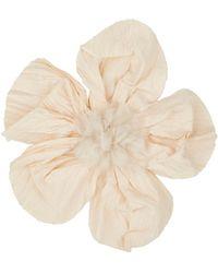 Lanvin - Cotton-silk Wedding Flower Hair Comb - Lyst