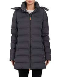 Save The Duck - Hooded Puffer Coat - Lyst